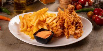 Crispy fish menü