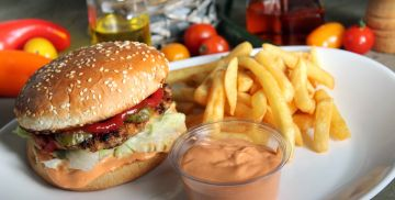 Chicken Burger Meniu